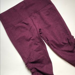 """Lululemon high rise cropped leggings """"In the Flow"""""""